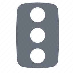 pika, simple, traffic, traffic light, transportation icon