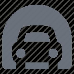 car, pika, simple, traffic, transportation, tunnel icon