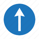 road, signs icon