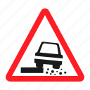 road, signs, two way icon