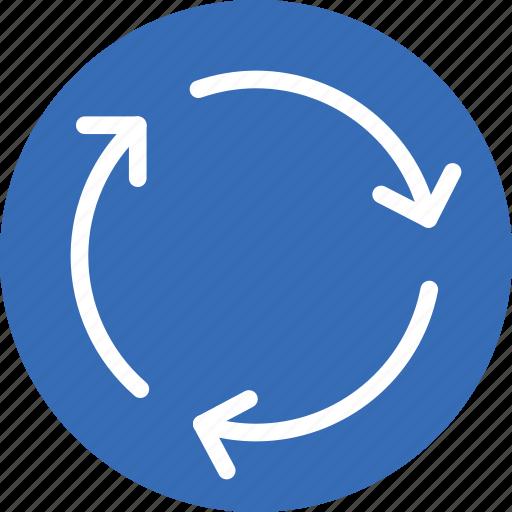 round, sign, traffic, transport icon