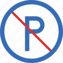 sign, traffic, no, transport, parking
