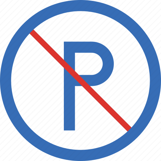 No, parking, sign, traffic, transport icon - Download on Iconfinder