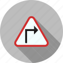 arrow, arrows, construction, fast, right, safety, sign