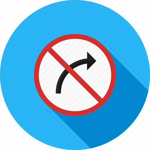 danger, right, road, sign, traffic, transportation icon
