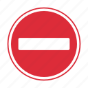 do not enter, traffic sign, warning sign icon