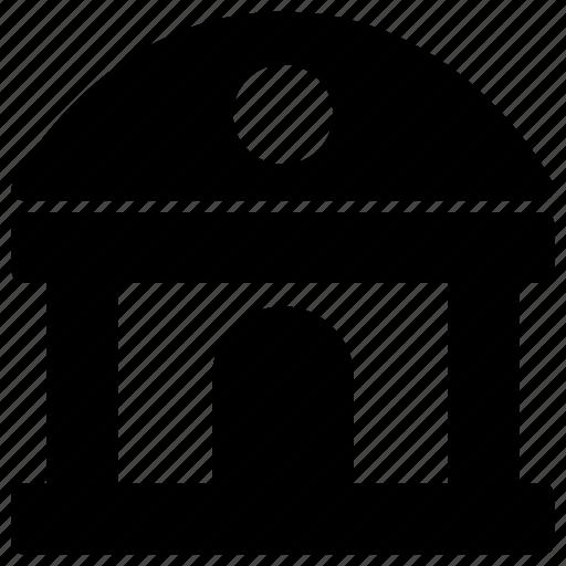 building, office, shuttle, station, train, transportation icon