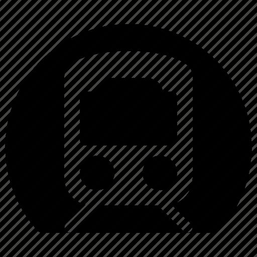 Railways, station, train, train tunnel, transportation, tunnel icon - Download on Iconfinder