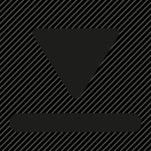 arrow, dowload, guardar, import, save icon