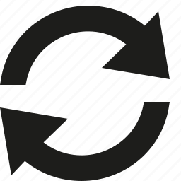 loop, refresh, repeat icon