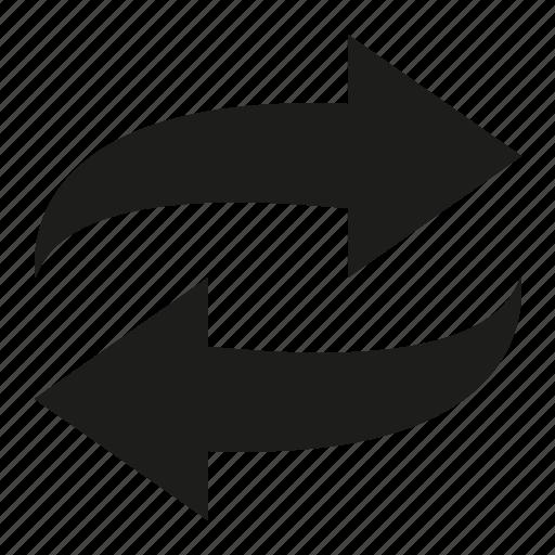 loop, refresh, reload, repeat icon