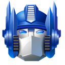 optimus, robot, transformer icon