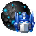 my, network, optimus, places, transformers icon