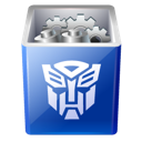 bin, decepticon, full, recycle, transformers icon