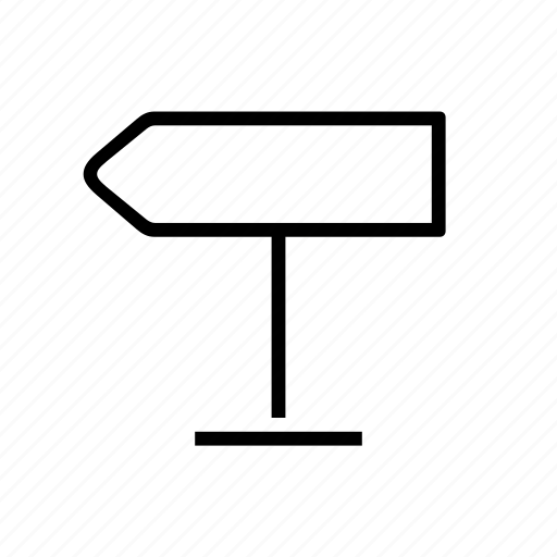 direction, left, orientation, sign, signage, transit icon