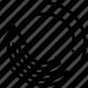 arrows, circle, interface, loading, processing