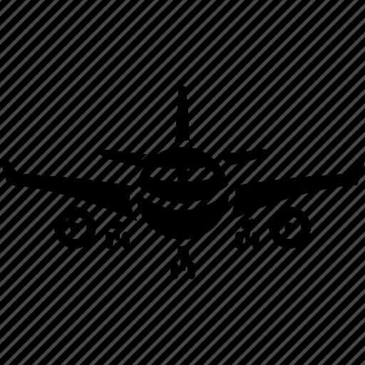 aero vehicle, air transport, aircraft, airliner, aviation, passenger transport icon