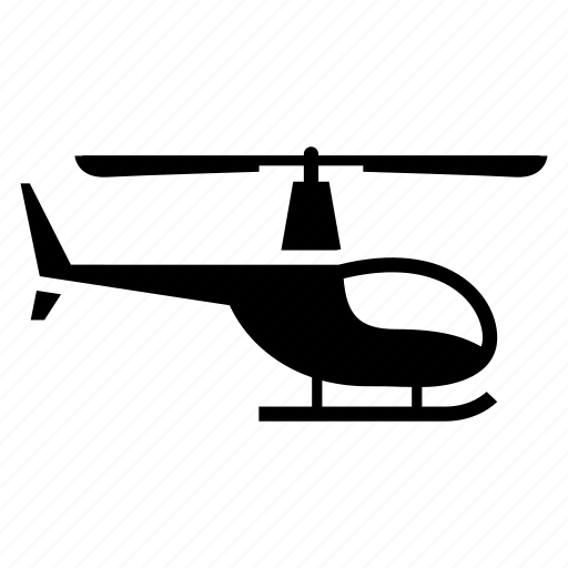 aero vehicle, air transport, chopper, copter, fly, helicopter icon