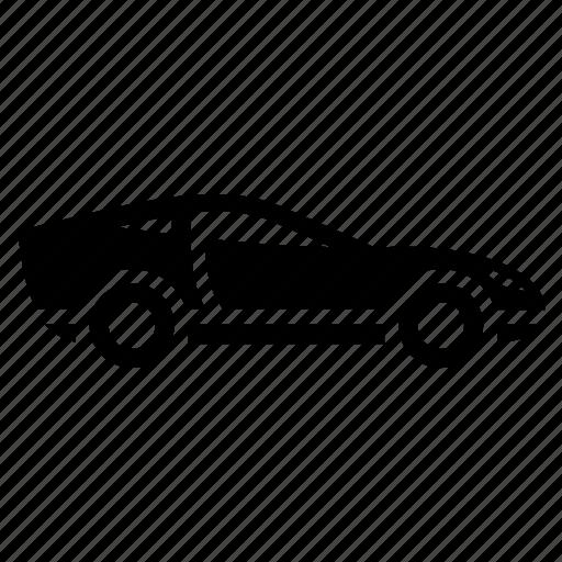 automobile, car, sport car, sports vehicle, vehicle icon