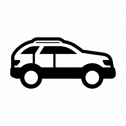 automobile, car, side view, suv, vehicle icon