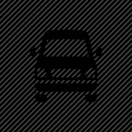 cargo truck, cargo van, delivery, mini bus icon