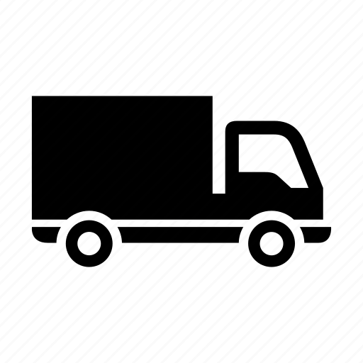 freight transport, lorry, truck, vehicle icon