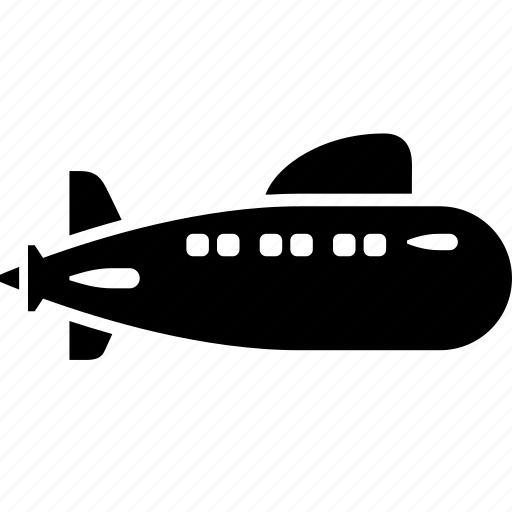 boat, marine, ship, submarine, transport, underwater, vehicle icon