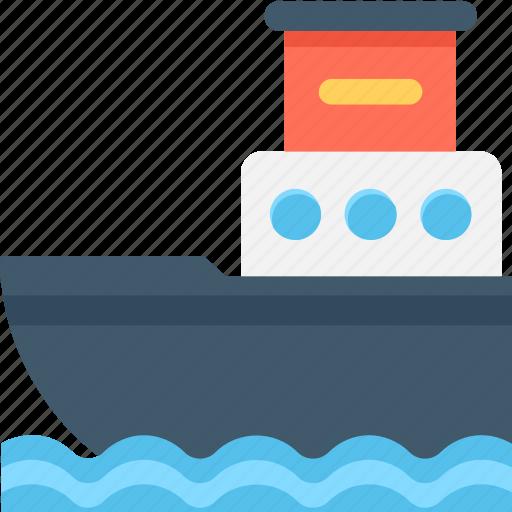 boat, cruise, ship, transport, vessel icon