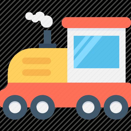 Engine, locomotive, steam engine, train, travel icon - Download on Iconfinder