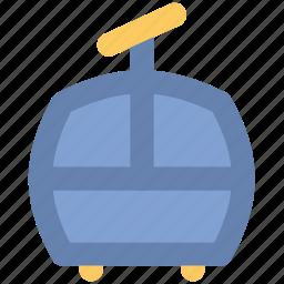 aerial lift, chairlift, detachable, entertainment, lift, ropeway, ski lift icon
