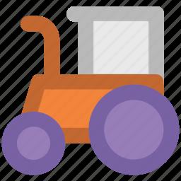 bulldozer, construction, construction bulldozer, dozer, excavator, transport, trucks, wrecking icon