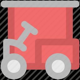 car carrier, golf, golf car, golf cart, golfing, vehicle icon