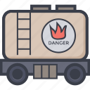 fuel, fuel tank, oil, tanker, water tank icon