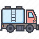 delivery transport, fuel tank, tanker, transport, water tank icon