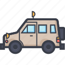 jalopy, jeep, suv, travel, vehicle icon