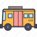 autobus, bus, public bus, public transport, school bus icon