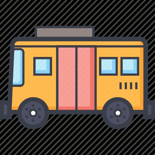 autobus, bus, public bus, public transport, school bus icon