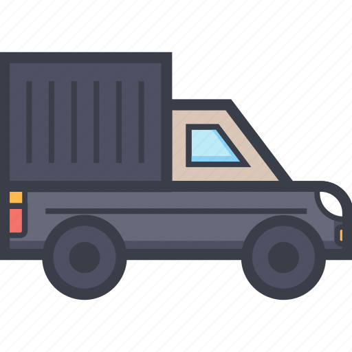 delivery, delivery truck, logistics, logistics truck, shipping truck icon