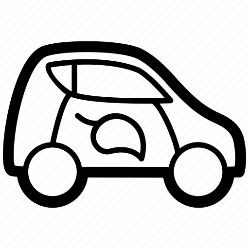 car, ecological, green, smart, sustainable, vehicle icon