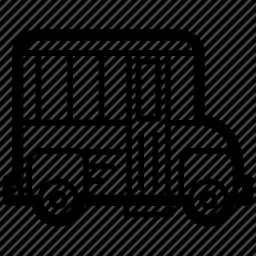 bus, motor, public, school, transport, vehicle icon