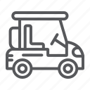 car, cart, golf, sport, transport, transportation, vehicle icon