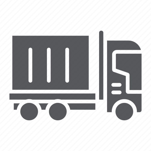 Cargo, delivery, logistic, lorry, transportation, truck icon - Download on Iconfinder