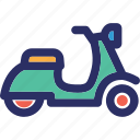 bike, personal bike, scooter, sports scooter icon