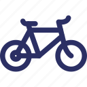 bicycle, cycle, cycling, manual bike icon