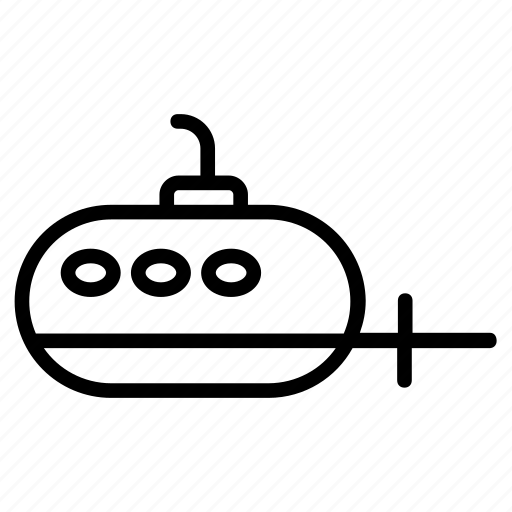 Boat, ship, submarine, transport, travel icon - Download on Iconfinder