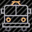 automobile, bus, transport, travel, vehicle