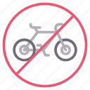 bike, cycle, notallowed, sign, stop
