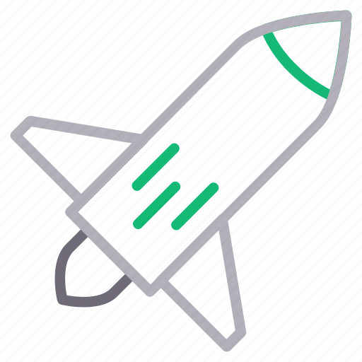 alienship, rocket, spaceship, transport, travel icon