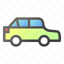 automobile, car, transport, transportation, vehicle, walk icon