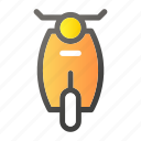 bicycle, bike, motorbike, scooter, transport icon
